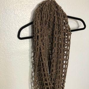 Francesca's Open-Weave Infinity Scarf